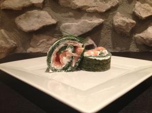Roulé saumon épinards 5 - It's Her Mess