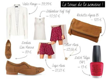La tenue de la semaine #3 - It's Her Mess