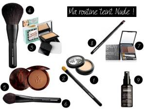 Ma routine teint nude - It's Her Mess