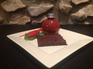Mini choco noisette et son coulis de menthe fraise - It's Her Mess (2)