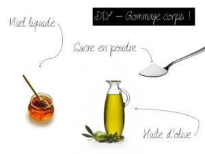 DIY - Gommage corps huile d'olive et sucre 3