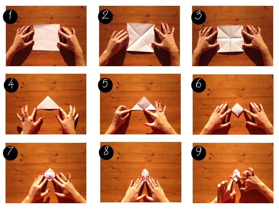 boule en origami facile