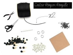 DIY - Sautoir pompon pampille - It's Her Mess (3)