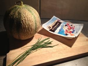 Entrée fraiche - melon féta - It's Her Mess 2