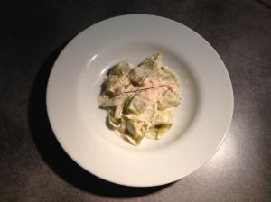 Les ricottas epinard sauce saumon - Mon plat du dimanche - It's Her Mess (2)