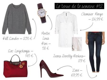 La tenue de la semaine #12 - It's Her Mess