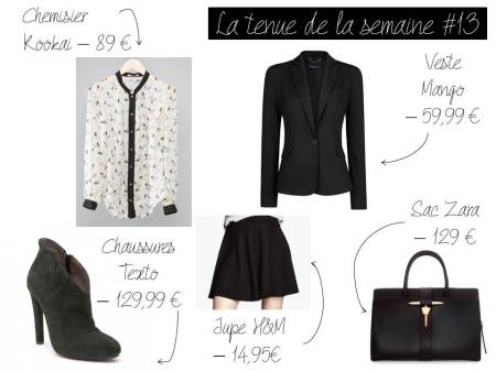 La tenue de la semaine #13 - It's Her Mess