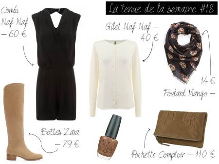La tenue de la semaine #18 - It's Her Mess
