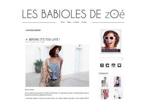 Les babioles de Zoe - It's Her Mess