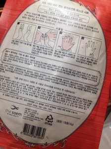 Les gants magiques - Hand treatment mask - The Saem - It's Her Mess (3)