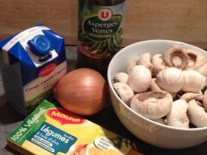 Velouté champignon asperge et oignon rings - It's Her Mess (1)