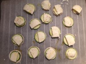Les bouchées apéro courgette et fromages (3) - It's Her Mess