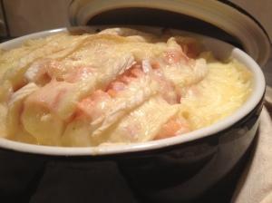 Tartiflette au saumon - It's Her Mess