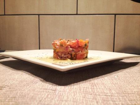 Tartare aux deux saumons - It's Her Mess (2)