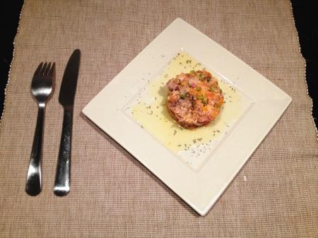 Tartare aux deux saumons - It's Her Mess (4)