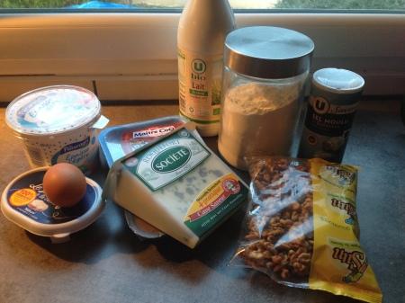 Ravioles au poulet, noix et roquefort - It's Her Mess (1)