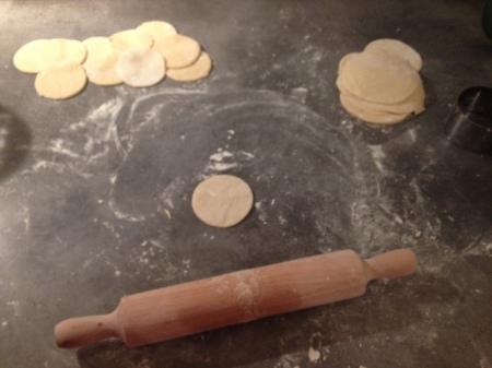 Ravioles au poulet, noix et roquefort - It's Her Mess (2)