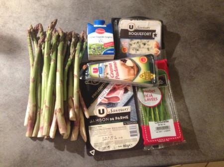 Asperges, jambon de Parme et sauce roquefort - It's Her Mess (3)