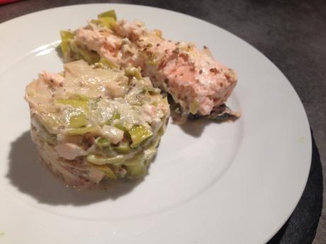 Fondue de poireaux, pavés de saumon et pointe d'anis - It's Her Mess (1)