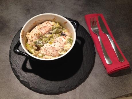 Fondue de poireaux, pavés de saumon et pointe d'anis - It's Her Mess (3)