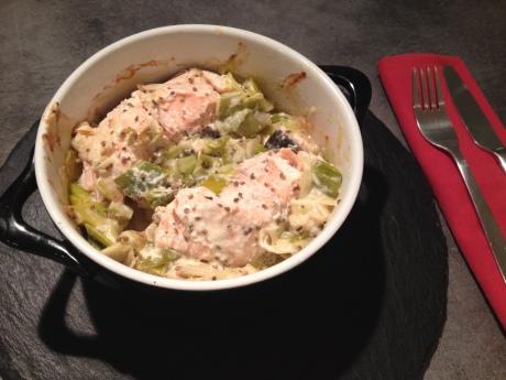Fondue de poireaux, pavés de saumon et pointe d'anis - It's Her Mess 5