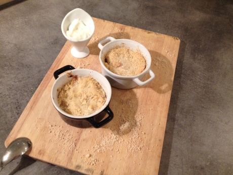 Crumble aux mangues - It's Her Mess 2