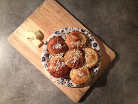 Muffins Rhubarbe Chocolat blanc - It's Her Mess (2)