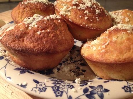 Muffins Rhubarbe Chocolat blanc - It's Her Mess (3)