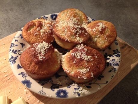 Muffins Rhubarbe Chocolat blanc - It's Her Mess (6)