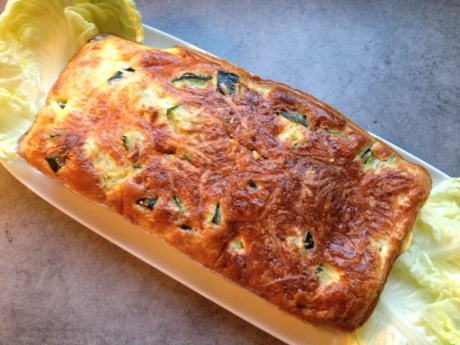 Flan de courgettes - It's Her Mess (4)