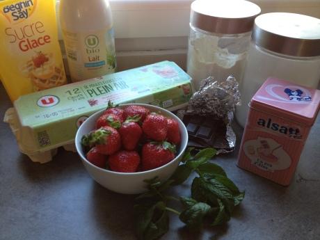 Fondant chocolat coeur coulant fraise menthe - It's Her Mess (4)