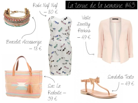 La tenue de la semaine #43 - It's Her Mess