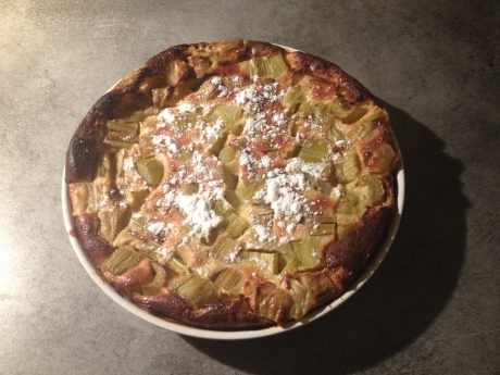 Clafoutis rhubarbe - It's Her Mess (2)