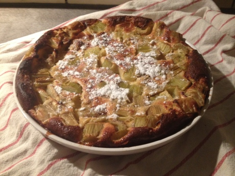 Clafoutis rhubarbe - It's Her Mess (4)