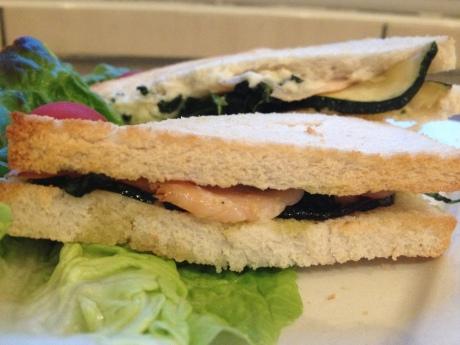 Croque saumon courgettes épinards et sa béchamel menthe aneth - Itt's Her Mess (4)