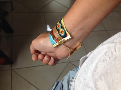 DIY - Bracelet HIPANEMA - It's Her MEss (8)