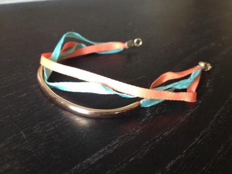 DIY - Bracelet rubans pour l'été - It's Her Mess
