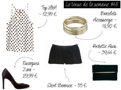 La tenue de la semaine #48 - It's Her Mess