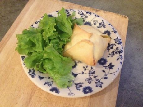 Feuilletés saumon épinard et fromage frais - It's Her Mess (1)