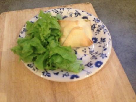 Feuilletés saumon épinard et fromage frais - It's Her Mess