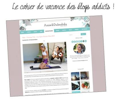Le cahier de vacance des blogs addicts - It's Her Mess
