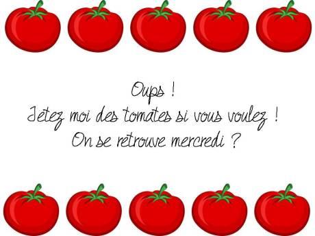 Oups tomates
