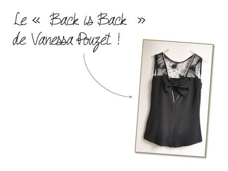 DIY - Back is Back de Vanessa Pouzet