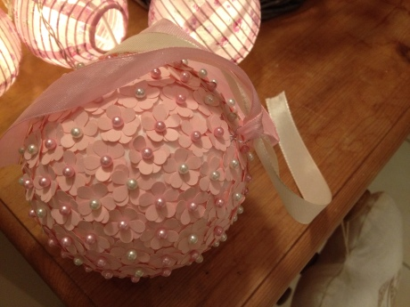 DIY - Boule Fleur