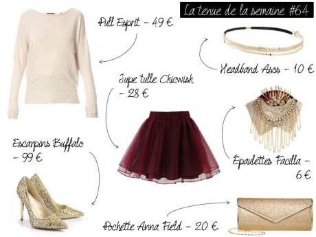 La tenue de la semaine #64 - It's Her Mess