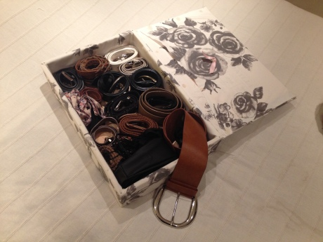 DIY - Boite à ceintures - It's Her Mess (6)