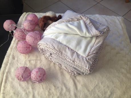 DIY - Couverture de bébé - It's Her Mess