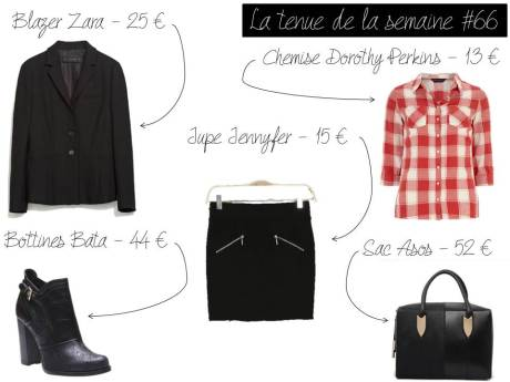 La tenue de la semaine #66 - It's Her Mess