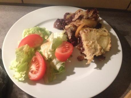 Parmentier aux pommes boudin noir et oignons caramélisés (2) - It's Her Mess