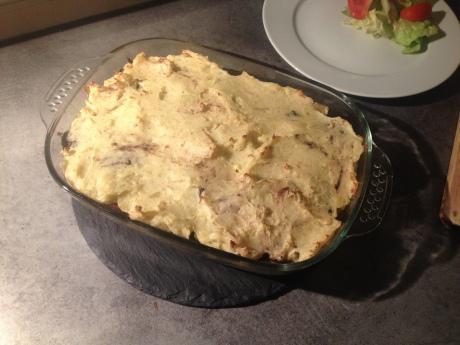 Parmentier aux pommes boudin noir et oignons caramélisés (3) - It's Her Mess